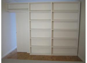 Bookcase Temporary Walls